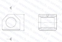 Nakrętka szpilki spinającej E66