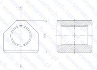 Nakrętka szpilki spinającej G80