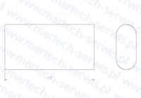 Rygiel grota HM710