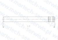 Zabezpieczenia rygla grota HM23000