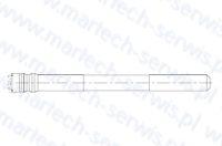 Zabezpieczenie rygla grota HM1000