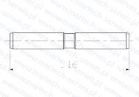 Zabezpieczenie rygla grota SB150