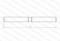 Zabezpieczenie rygla grota SB450