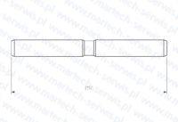 Zabezpieczenie rygla grota SBC650