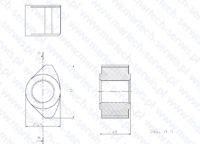 Nakrętka szpilki MES7000