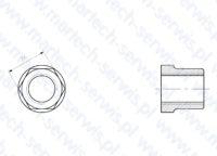Nakrętka szpilki spinającaej F5
