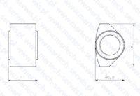 Nakrętka szpilki spinającej MES1200