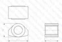 Nakrętka szpilki spinającej MES650